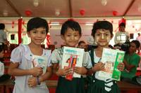 Bringing the Joy of Learning to Children in Asia: Fuji Xerox Project Leveraging its Strengths to Provide Learning Materials